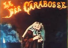 """A colorful screencap from the Georges Melies film """"The Witch,"""" 1906 Music Box Theater, Theatre, Silent Film Stars, Filmmaking, Mystic, Witch, Cinema, Neon Signs, Colorful"""