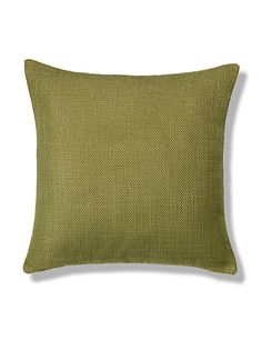 Chartreuse Bantry Weave Cushion Home