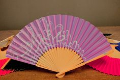 Check out this Contemporary Hearts Hand Fan - 2 Colours on the Easy Weddings Shop