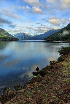 Lake Crescent, WA -- I used to take this lake for granted on the many times I had to drive around it going from Port Angeles to Neah Bay. Now I would give anything to have those drives back.