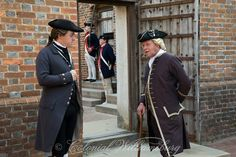 """Revolutionary City Book: """"War in the West"""" British prisoner """"Hairbuyer"""" Hamilton and military guards at the Gaol (jail,) photo by David M. Doody."""