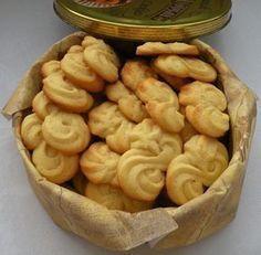 Czech Desserts, Mini Desserts, Baking Recipes, Cookie Recipes, Snack Recipes, Snacks, Christmas Sweets, Christmas Baking, Sweet Cookies