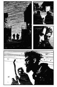 """Sequential Art - Chad Weatherford Concept Art/Illustration (This makes me want a """"The Road"""" comic) Comic Book Pages, Comic Books Art, Comic Art, Storyboard, Art And Illustration, Illustrations Posters, Comic Layout, Graphic Novel Art, Arte Sketchbook"""