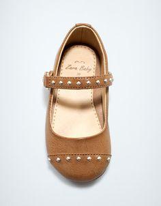 studded ballerina - Shoes - Baby girl (3-36 months) - Kids - ZARA United States