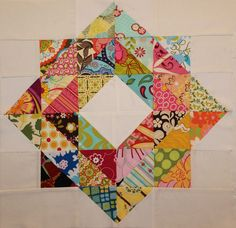 expanded scrappy depression block 2019 The post expanded scrappy depression block 2019 appeared first on Quilt Decor. Scrappy Quilt Patterns, Scrappy Quilts, Mini Quilts, Quilt Blocks, Half Square Triangle Quilts, Square Quilt, Quilting Projects, Quilting Designs, Quilting Ideas