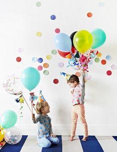 Confetti Theme Party - Adorable First Birthday Party Ideas - Photos