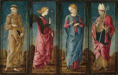Cosmè Tura - Annunciazione (polittico) - 1470/1480 -  Collezione Samuel H. Kress, Washington, National Gallery of Art
