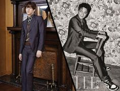 Fashion Face Off: Park Sang Hyun Vs. Kim Jinwoo In Prada Suit - http://imkpop.com/fashion-face-off-park-sang-hyun-vs-kim-jinwoo-in-prada-suit/