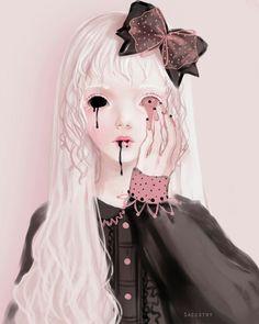 Saccstry, blood, Illustration