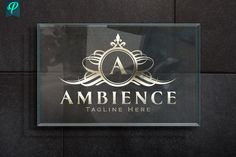 Ambience - Luxury Logo Design by PenPal on @creativemarket