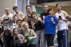 Members of the company in rehearsals for Charlie and the Chocolate Factory. Photo by Helen Maybanks