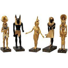 Design Toscano 5-Piece Gods of the Egyptian Realm Figurine Set