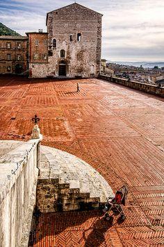 Gubbio in Umbria, Italy