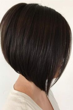 Straight Inverted Bob Hairstyle Looks Picture 3