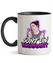 Imagini pentru youtuberi romani diana c Diana, Romani, Mugs, Tableware, Dinnerware, Tumblers, Tablewares, Mug, Dishes