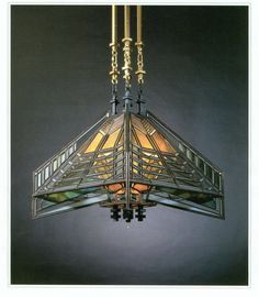 Frank Lloyd Wright Sumac Pendant Light  by ReusableStyleModern, $28,449.00