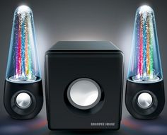 Water & Light Show Bluetooth Streaming 2.1 Speakers