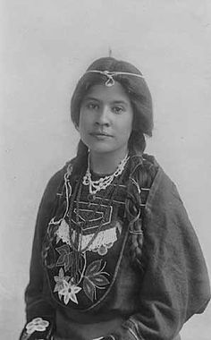 Margaret Guinon, Office Clerk at United States Agency, White Earth - Ojibwa - 1910