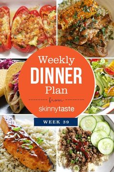 Healthy Weekly Meal Plan, 21 Day Fix Meal Plan, Weekly Menu, Family Meal Planning, Family Meals, Menu Planning, Dinner Menu, Dinner Recipes, Dinner Ideas