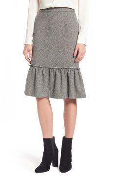 d64da5f045ec Ruffle Hem Pencil Skirt. MsGoldgirl · Dresses   Skirts