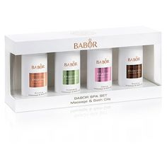 BABOR SPA Massage&Bath Oil Set