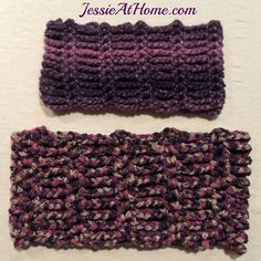 Mommy and Me Infinite Twilight Cowls free #crochet pattern @jessie_athome