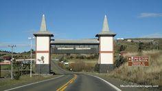 Portal de entrada de Bom Jardim da Serra / SC