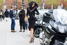 Love the shoes! Tommy Ton Shoots the Street-Style Scene at the Spring 2013 Shows