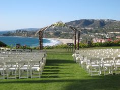 Ritz-Carlton - Laguna Niguel Wedding! I've wanted this ever since I witnessed a wedding here :)