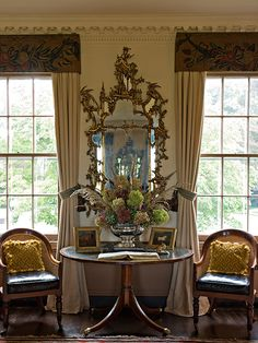 Drawing Room, Manor House at Ladew Gardens