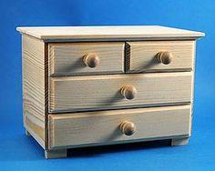 Polotovary - Komodka 4 šuflíky masív 004, ihneď - 5204795_