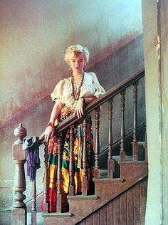 Marilyn Monroe as gypsy fortune teller