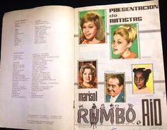 Yo fuí a EGB. Recuerdos de los años 60 y 70.: Los años 60 y 70 colecciones de cromos álbumes y cromos de la década de los 60