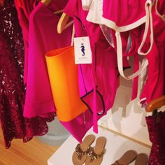 Shades of pink, swimsuits, shirts, accessories  SoloBlu