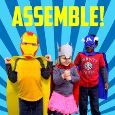 Custom Superhero Masks #accessories @EtsyMktgTool http://etsy.me/2uoKiph #wonderwoman #avengers #batman #captainamerica #partyfavor