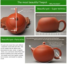 yixing teapot - Google Search #oolongteaweightloss Pottery Teapots, Ceramic Teapots, Ceramic Clay, Ceramic Pottery, Pottery Art, Ceramic Techniques, Pottery Techniques, Yixing Teapot, Ceramic Studio