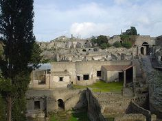 Pompeii, Greece. And speaking of ancient abandoned cities..
