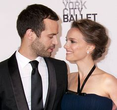 Natalie Portman and her fiancé Benajmin Millepied