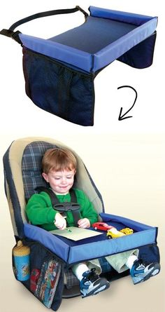 Car Seat Travel Tray.....such a smart way to travel with kids!!!