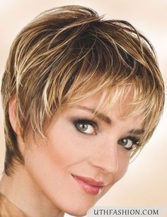 Image result for very short hairstyles with bangs for women