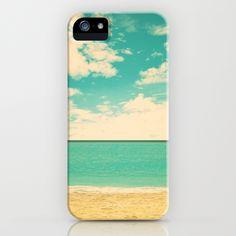 Retro Beach iPhone Case by Andreka | Society6