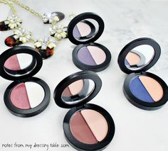 Youngblood Perfect Pair Mineral Eye Shadow Duos - Cruelty Free and bad stuff free good for you beauty. | Notes from My Dressing Table .com