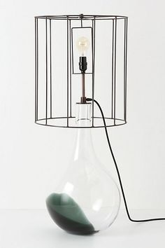 Pulled Smoke Lamp Ensemble  $1,498.00. I am in love with this lamp but it is so 'effing expensive! SIGH!