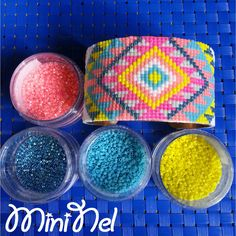Etsy - Shop for handmade, vintage, custom, and unique gifts for everyone Bead Loom Bracelets, Beaded Bracelet Patterns, Seed Bead Patterns, Beading Patterns, Bead Embroidery Jewelry, Beaded Embroidery, Seed Bead Jewelry, Loom Beading, Bead Weaving