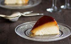 Tarta de queso con tocino de cielo. receta de cocina fácil, sencilla y deliciosa