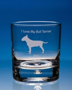 Quality pair. Scottie dog gift Whisky Glasses