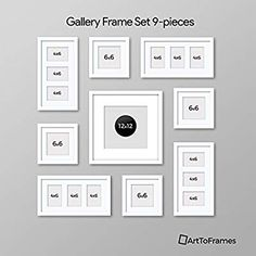 decorating a hallway Wall Collage, Frames On Wall, Framed Wall Art, White Frames, Gallery Frame Set, Gallery Wall Layout, Family Pictures On Wall, Family Wall, Picture Wall Living Room