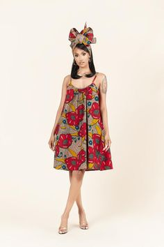 African Print Clothing, African Print Dresses, African Print Fashion, African Dress, Casual Dresses, Fashion Dresses, Casual Wear, Summer Dresses, Mode Wax
