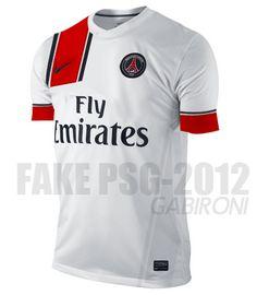 Photo : Maillot extérieur PSG 2012-2013, idée #24 - LudovicPSG - Blog Football.fr