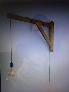 Wat een leuke lamp, simpel maar wel heel uniek.